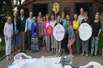 Oxenhope Sue Ryder hospice Manorlands in fundraising groups plea
