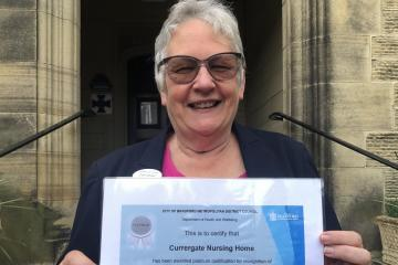 Steeton nursing home recognised for 100 per cent Covid vaccination rate amongst staff