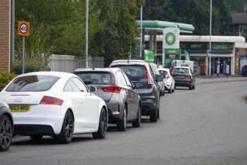 BP, Shell and Esso update drivers on when petrol station queues will end