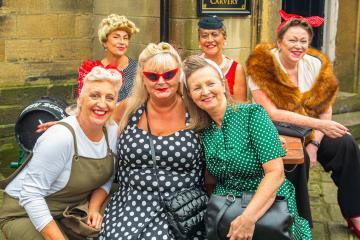 Haworth 1940s event is hailed a success: PHOTOS