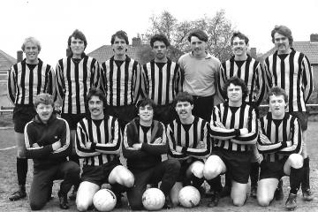 A selection of football teams from years gone by