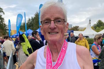 Retired Keighley teacher's marathon effort for charity