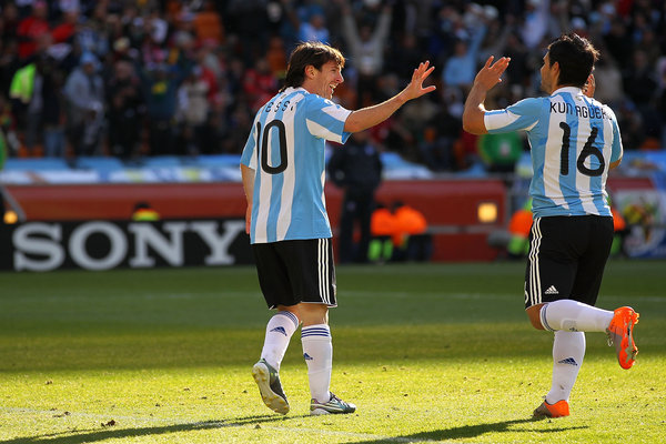Keighley News: Argentina South Korea World Cup 2010