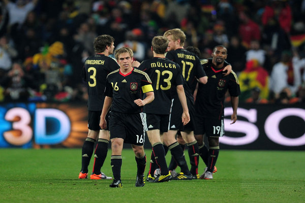 Keighley News: Germany Ghana World Cup 2010