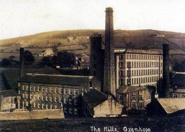 Keighley News: Mill is a strak reminder