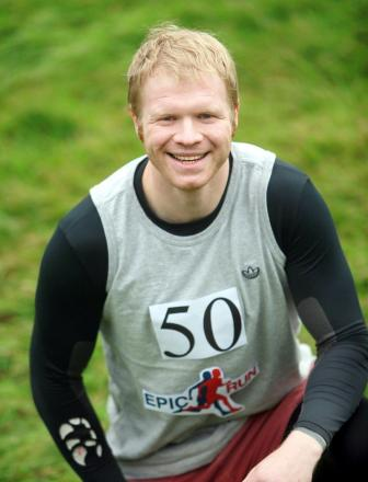 Sam Boatwright is training to take on an incredible 2,500k run around the UK coastline for charity, Help For Heroes