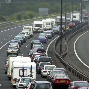 David Cameron said road ownership options needed to be considered as the taxpayer cannot afford to pay for improvements needed to ease traffic jams