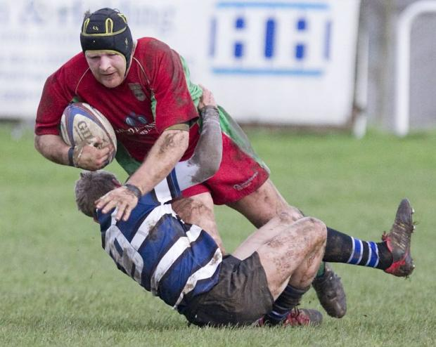 Leigh Sugden scored two tries as Keighley won at Knottingley. Picture: Charlie Perry
