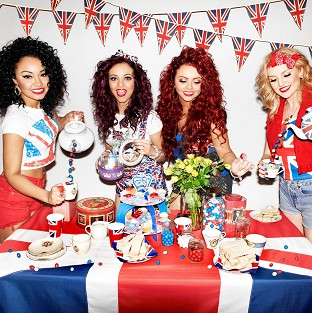 Little Mix launch the special edition red, white and blue peanut M&Ms