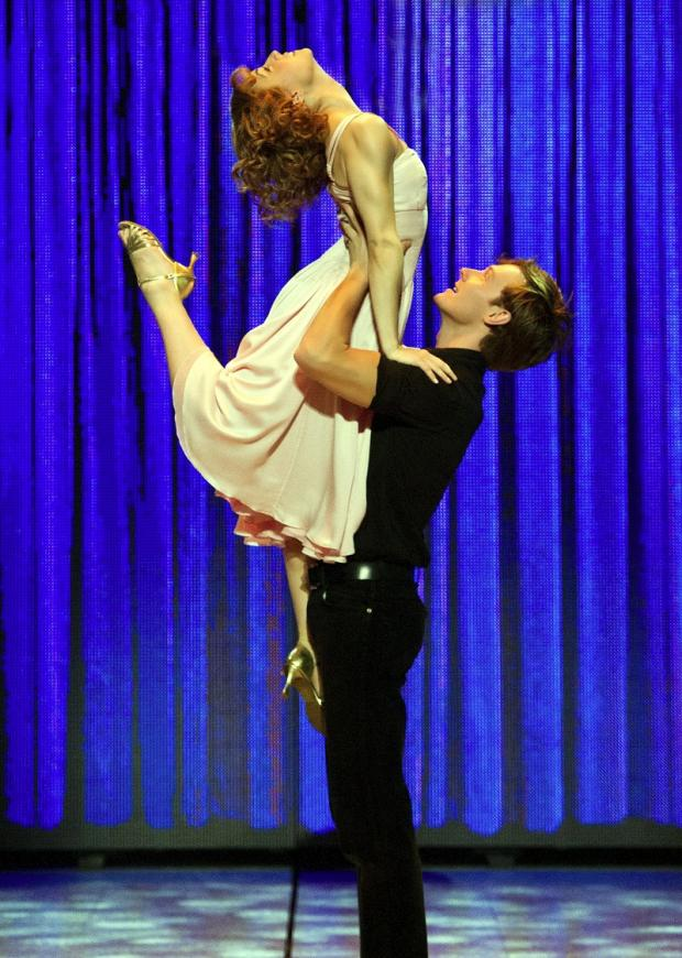 Keighley News: Baby and Johnny get up close and personal in Dirty Dancing