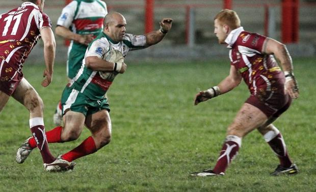 Jamaine Wray is one of those returning Keighley Cougars players who will be hoping to get the nod from player-coach Jason Demetriou