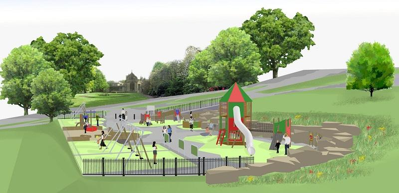 Park plans for a new playground keighley news park plans for a new playground malvernweather Image collections