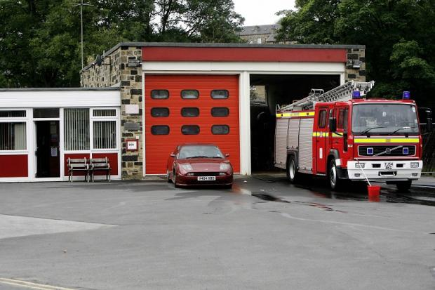 Keighley News: Haworth fire station has been given a stay of execution, but community-backed service plans still need to be approved