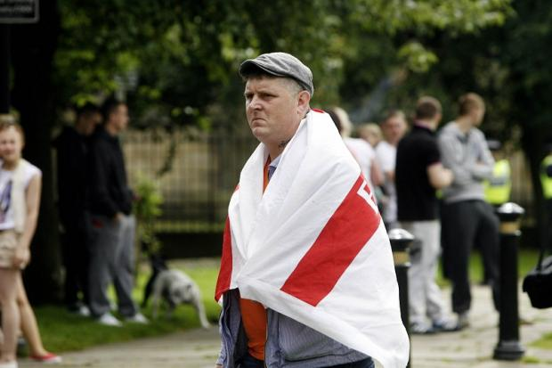 Town praised for peaceful EDL rally