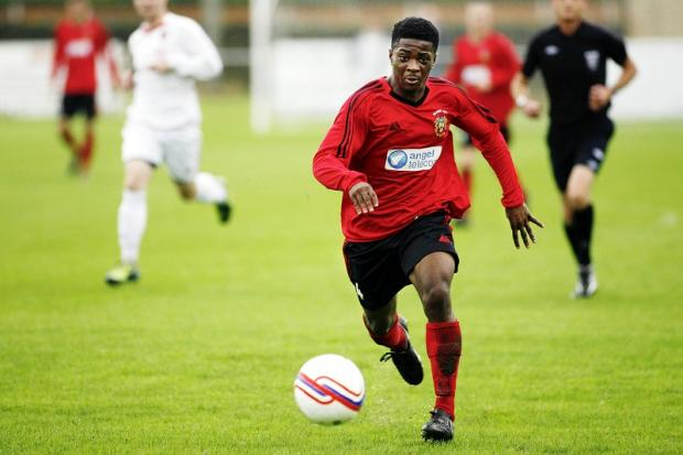 James Nanje-Ngoe scored on his debut for Silsden