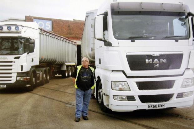 Lorry driver Malcolm Harrison, who died in an incident at the Port of Liverpool