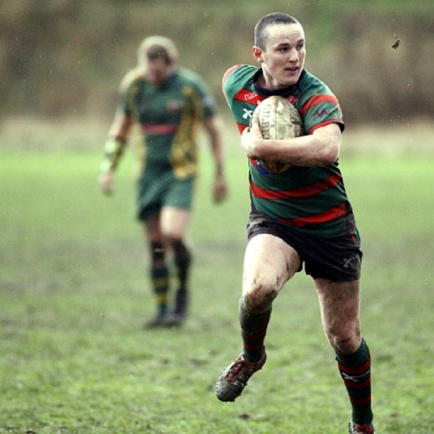 Danny Barrett scored two tries for Keighley