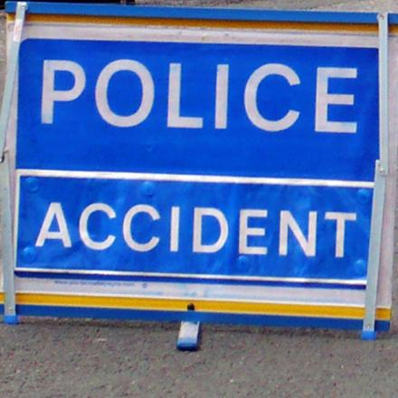 Car collision in Keighley town centre