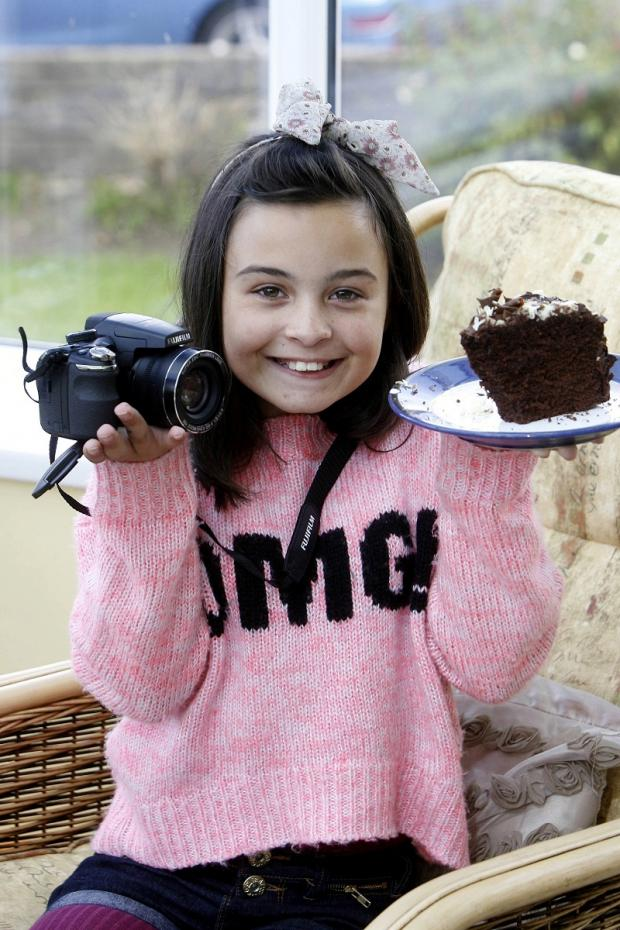 Tilly Stothard who is hoping to take photographs of children's parties