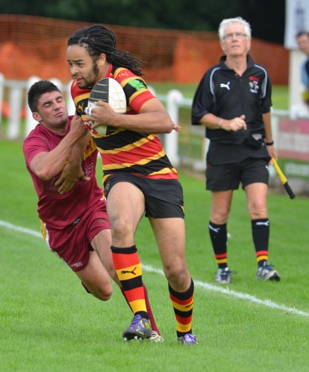 Winger Adam Wellington is back in contention for Bradford & Bingley