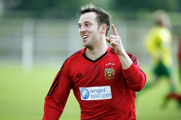 Goalscorer Mike Garrod