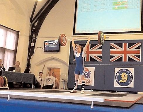 MNore British record for Rebekah Tiler