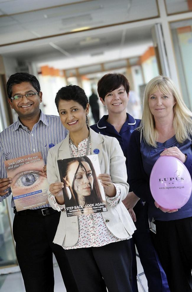 Airdale Hospital staff to raise awareness of immune illness