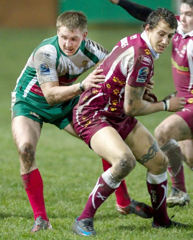 Daley Williams in action for Batley against the Cougars last season – Picture: Charlie Perry