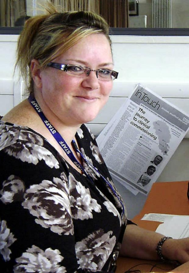 Julie Lintern, older people's development manager at Keighley and Ilkley Voluntary and Community Action