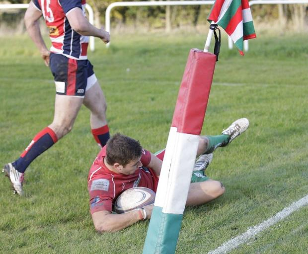 Harry Titley scored Keighley's only try