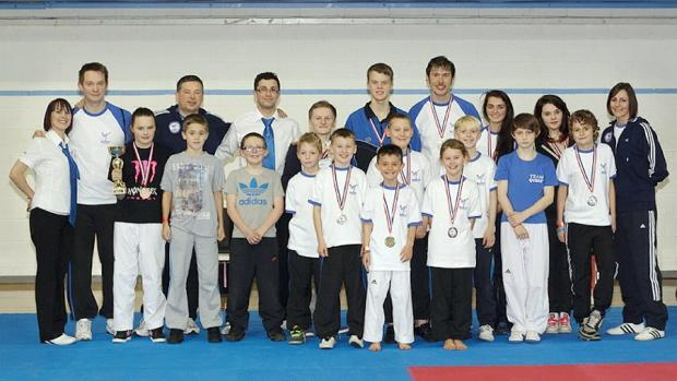Quest Taekwondo, who have had successes in the Scottish International Cup and Yorkshire Open Sparring Championships
