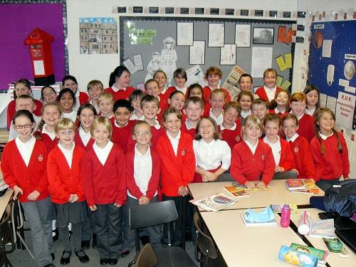 Wilsden Primary School choir will be performing The Orphan's Christmas Wish