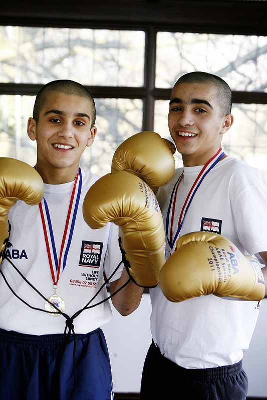 Muhammad Ali, right, has won another national title while his brother Danish Muhammad, left, is recovering well following a brain injury