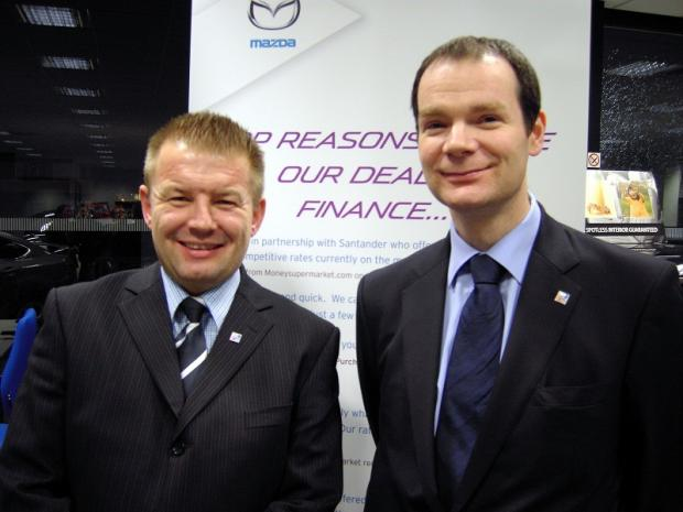 RRG Group joint managing directors Tony Cliff (left) and Arran Bangham