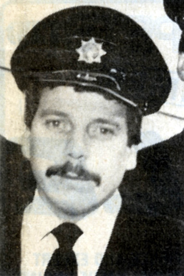 Firefighter Jeff Naylor who lost his life 30 years ago trying to save children who were trapped inside a burning house