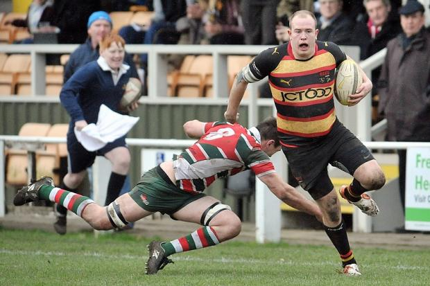 Bradford & Bingley winger James Morton broke his nose last weekend