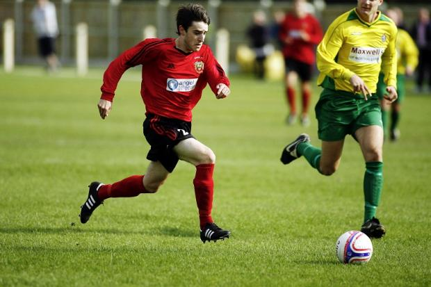 Matthew Moses was superb at the heart of the Silsden defence