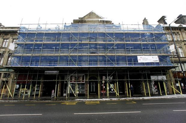 Work is underway on the restoration of the North Street Arcade as part of the £2.7m Keighley Townscape heritage scheme