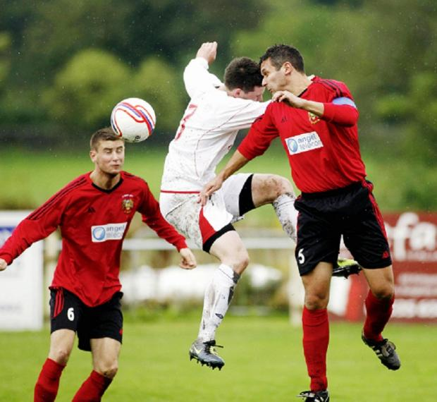 Silsden skipper James Nettleton, right, is set to join neighbours Barnoldswick Town