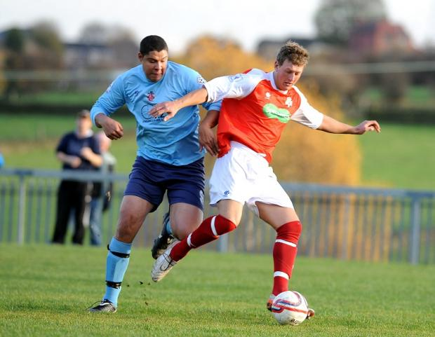 Liversedge, left, will be hoping to bounce back after defeat against Thackley