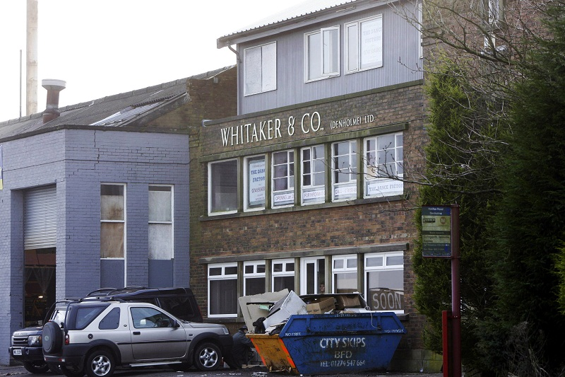 The Whitakers Joinery site in Denholme, subject of a new planning application