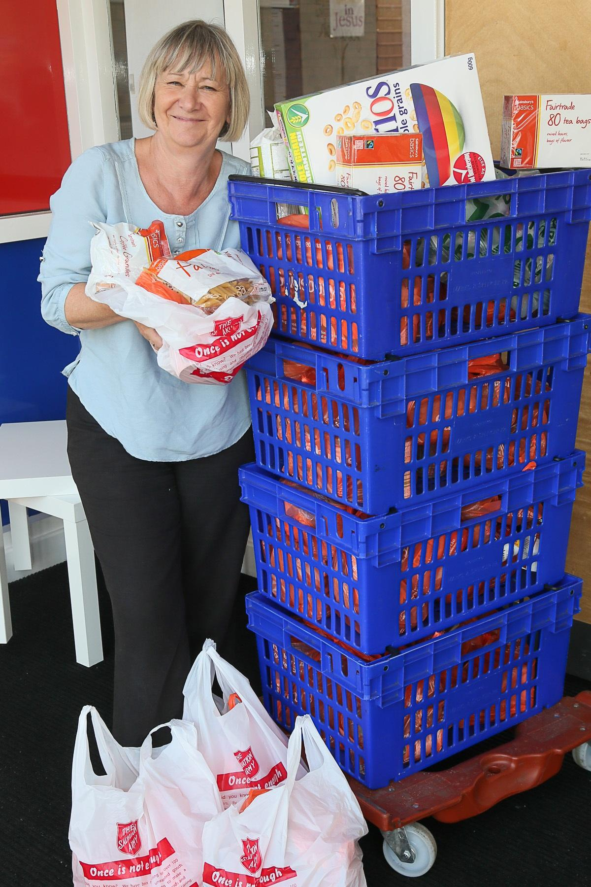 Keighley Salvation Army Opens Its Foodbank In August For The