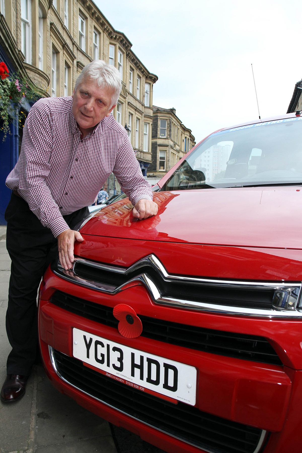 Taxi firm owner, Stuart Hastings, who has backed the council's licensing policy