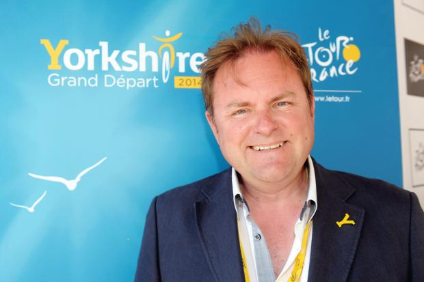 Welcome To Yorkshire chief executive Gary Verity