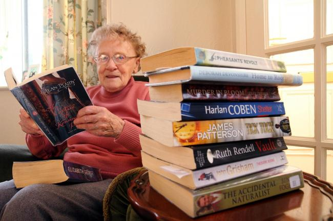 Ailene Ward, of Silsden, who has voiced her fears about the planned axing of the 'lifeline' mobile library service
