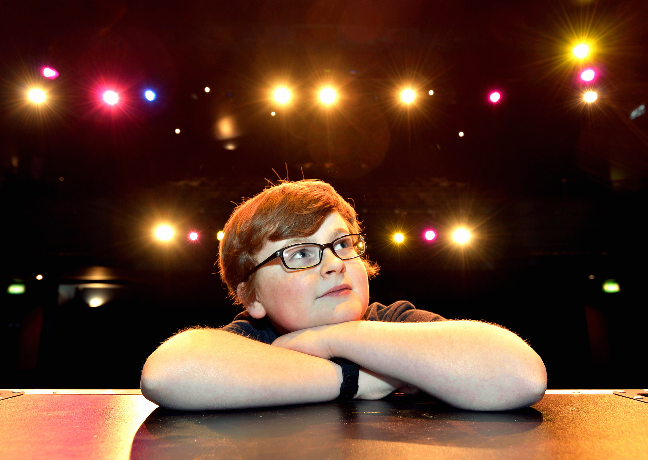Sam Burles, a pupil at Stagecoach in Keighley, who has landed a TV role in a Victoria Wood musical