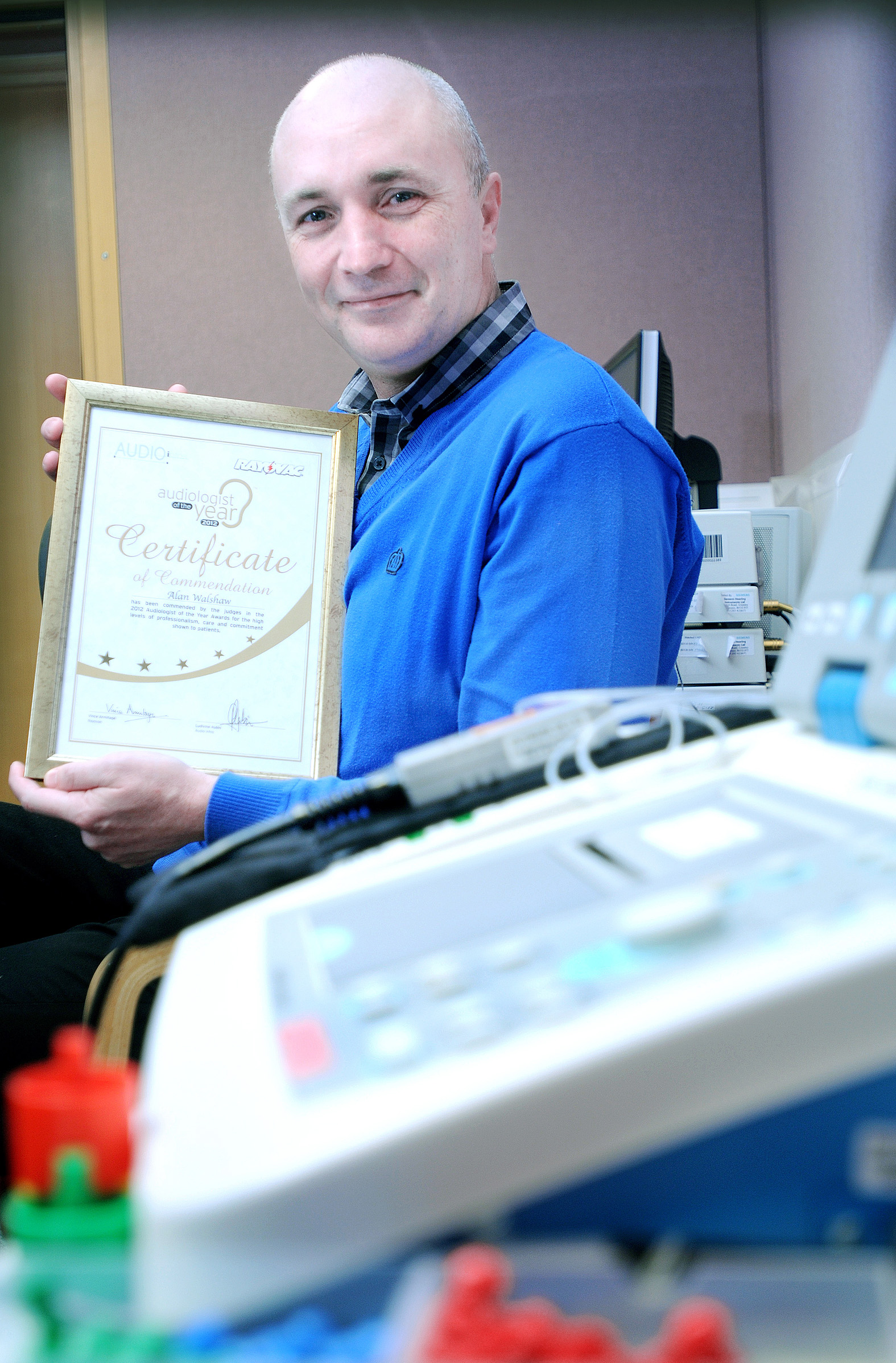 Airedale Hospital audiologist, Alan Walshaw, has received a fifth accolade in the UK Audiologist of the Year awards