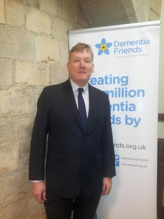 Keighley MP Kris Hopkins attends a special session in Parliament, as part of a drive to end the stigma surrounding dementia