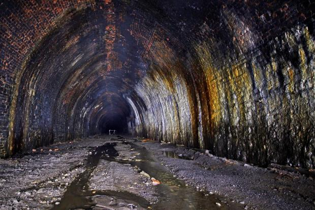 The Queensbury tunnel, which could be opened for use as a cycle track from Cullingworth