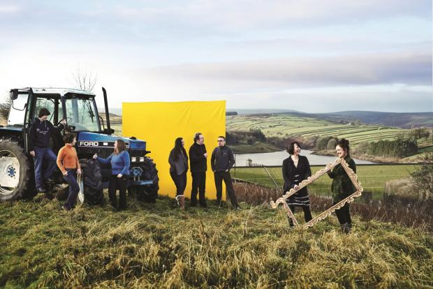 Fields of Vision will see artists working with farmers, cyclists and the community to create land artwork in the Worth Valley.